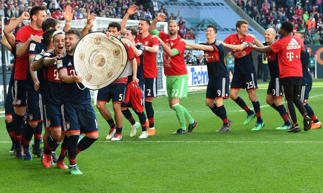 Bayern Monaco 6 Campione