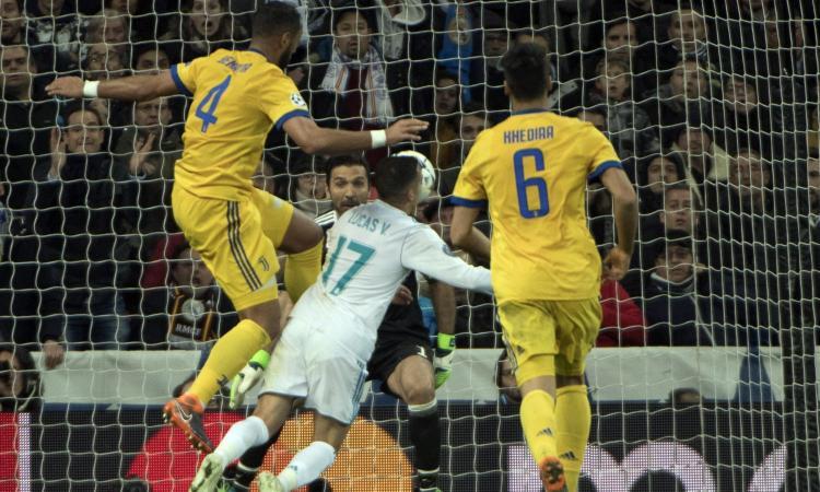 Juve, senti James: 'Rigore al Real Madrid? Premio per gli sforzi fatti'