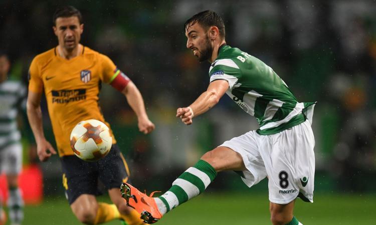 Anche l'Inter sonda il terreno per Bruno Fernandes