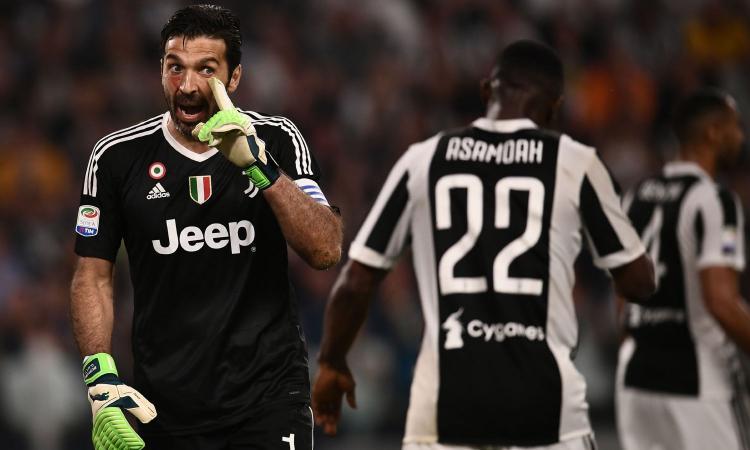Juve a nervi tesi dopo il ko col Napoli: l'ira di Buffon contro tutta la squadra