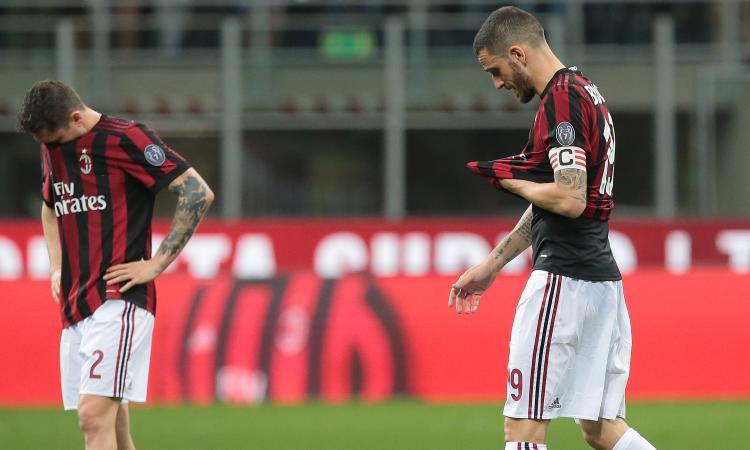 Milan, che figuraccia! Adesso è a forte rischio anche l'Europa League