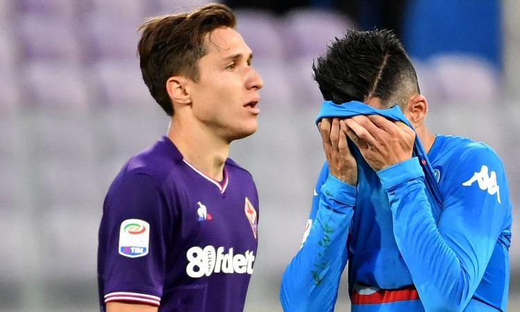 Fiorentina-Napoli 3-0: GOL & HIGHLIGHTS
