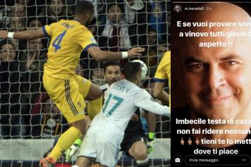 Benatia Hits Back At Italian Comedian D Head I Wait For You In Vinovo