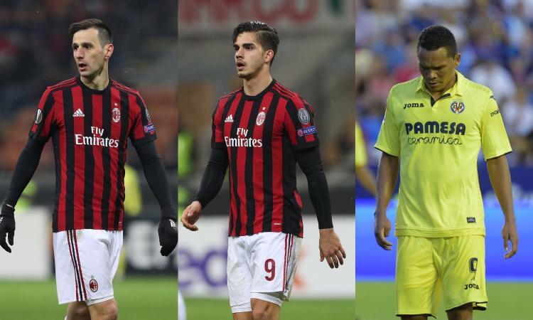 Milan, ora le cessioni: Kalinic, Bacca e André Silva, 3 casi spinosi per Leonardo