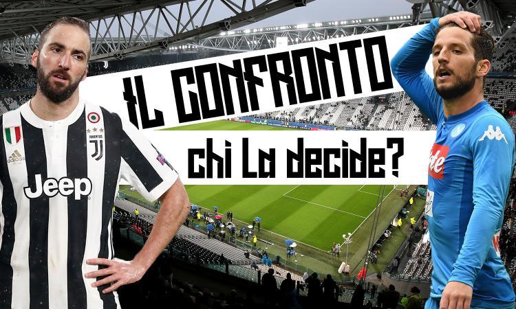 Higuain vs Mertens: bomber senza gol in Juve-Napoli. Chi si sblocca? VIDEO