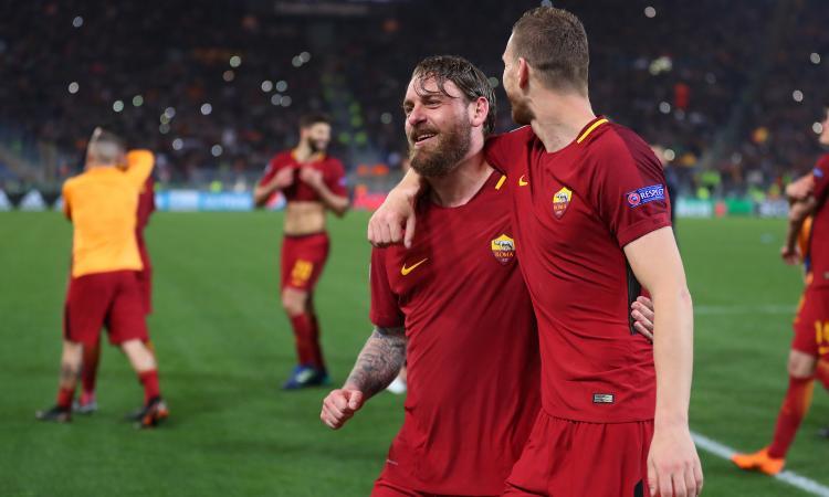 Roma, le pagelle di CM: tutto ok Roma. Dzeko superlativo