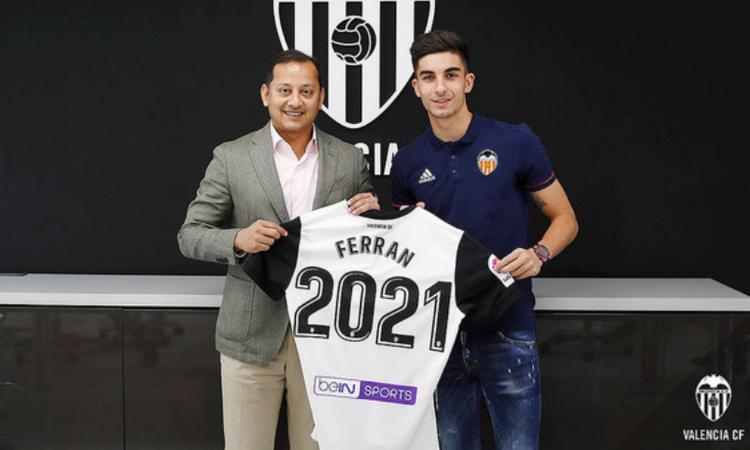 Terza Maglia Valencia CF Ferrán