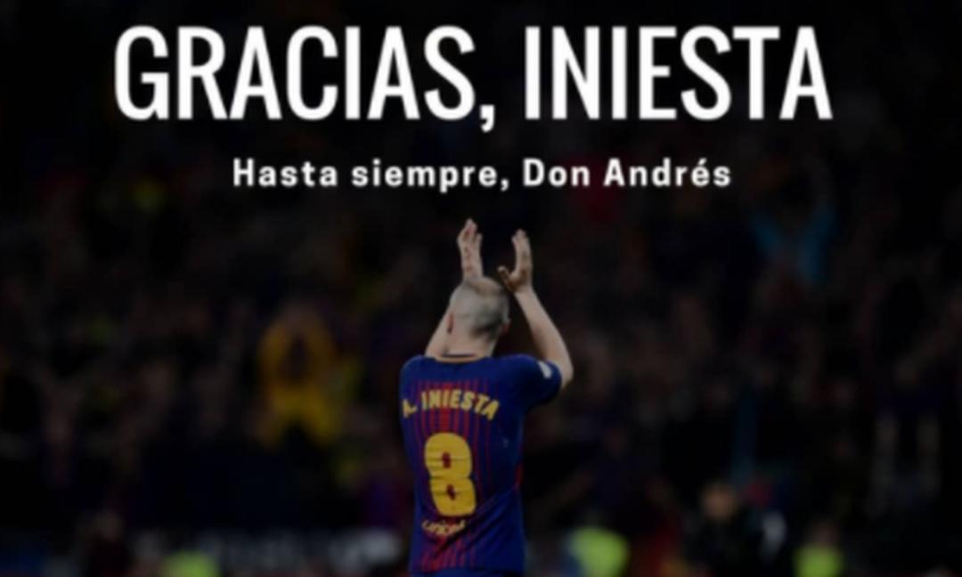 Elogio a Iniesta: il visionario che ha fatto grande Messi