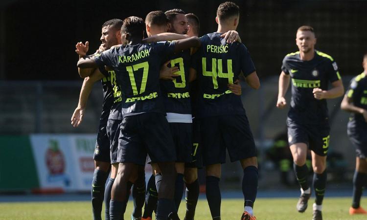 Le parate di Handanovic, i gol di Icardi e Perisic: l'Inter batte il Chievo