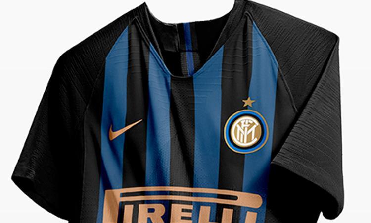 a025909863f310 Inter, nuova maglia per la stagione 2018/19 ecco le anticipazioni FOTO