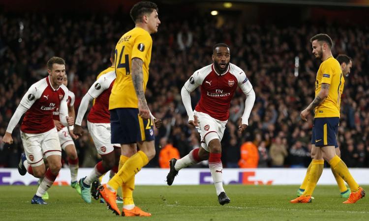 Semifinali Europa League: Arsenal-Atletico 1-1 e Marsiglia-Salisburgo 2-0