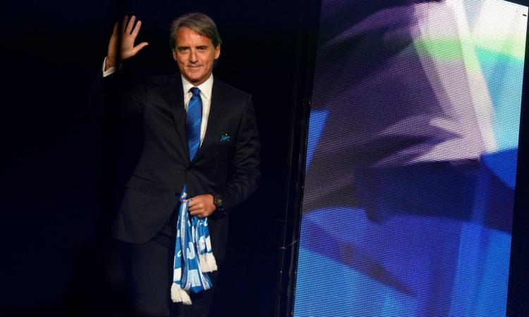Italia, Mancini il nuovo ct: domani la presentazione alla stampa