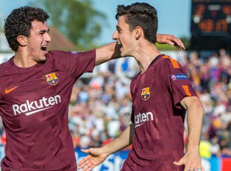 Barcellona: un talento della Masia finisce fuori rosa, c'è la Juve