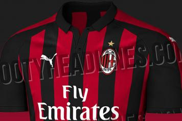 3ce74be7d AC Milan's 2018/19 home shirt leaks online | English News ...