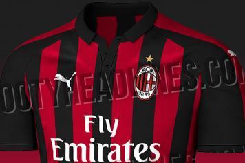 e53cf52f2 AC Milan s 2018 19 home shirt leaks online