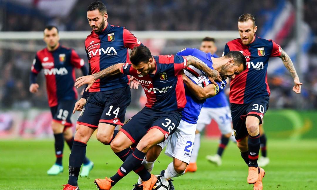 Né vincitori né vinti, Samp e Genoa si spartiscono la posta