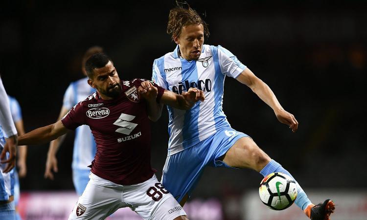 Lazio: convocato per il rinnovo l'agente di Lucas Leiva