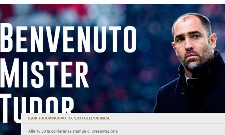 Udinese, UFFICIALE: l'ex Juve Tudor è il nuovo allenatore: Iuliano secondo