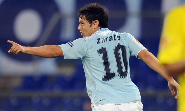 Lazio-Inter, il doppio ex Zarate: 'Champions? Lazio, sarebbe un successo. L'Inter ambiva ad altro...'