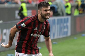 Cutrone esultanza Milan