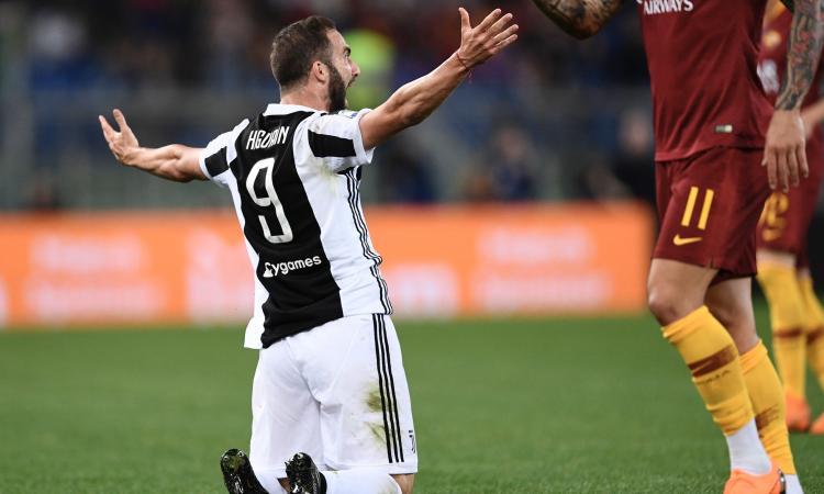 Juve, Nicola Higuain stuzzica il Napoli FOTO