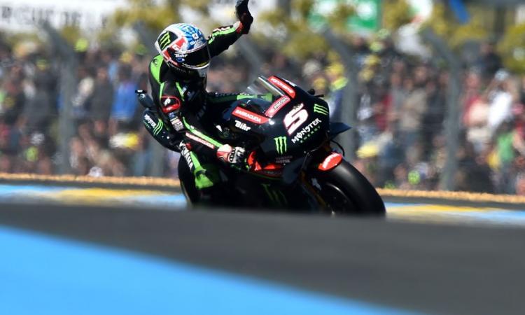 MotoGP: Francia, Zarco in pole davanti a Marquez! Crutchlow in ospedale