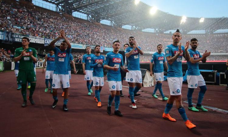 Crotone retrocesso in serie B, Napoli a 91 punti: Atalanta in Europa, Roma ok