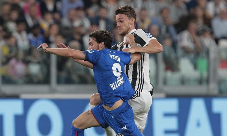 Inter, la Roma ha in pugno Verdi