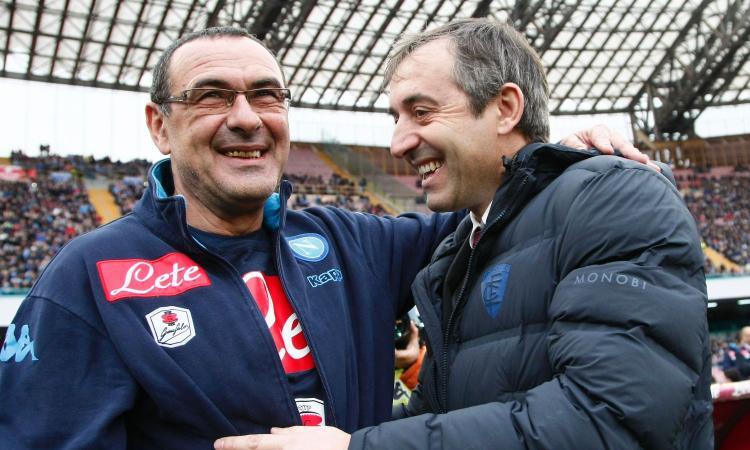 Samp-Napoli, per i bookies Sarri senza problemi