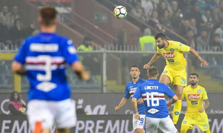 Sampdoria-Napoli 0-2: il tabellino VIDEO