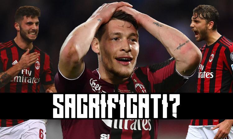 Il Torino vuole Locatelli e Cutrone. Il Milan li sacrifica per Belotti?