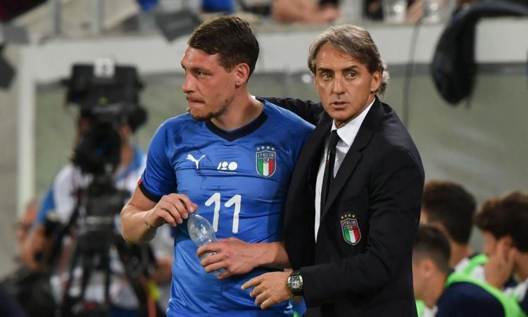 Italia: Mancini chiama Politano e Tonali, ancora fuori Balotelli e Belotti