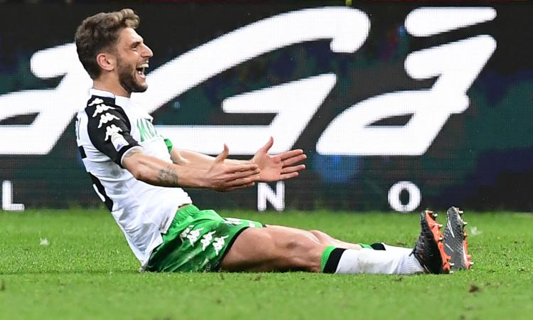 Nuova posizione, nuovo Berardi: ecco come può far comodo a Milan e Roma