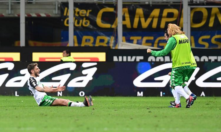Sassuolo, Berardi: 'Gol all'Inter una piccola rivincita. Futuro? Vedremo'