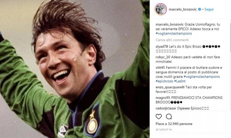 Inter, Brozovic ringrazia Zenga per aver fermato la Lazio: 'Grazie Uomo Ragno, sei epico. Adesso tocca a noi'