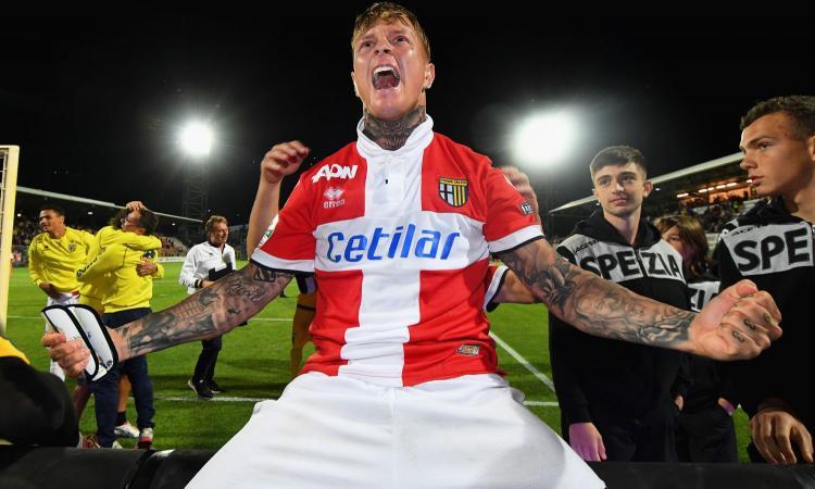 Parma, Grassi non recupera