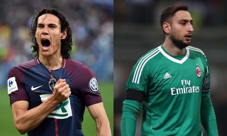Dall'intrigo Donnarumma-Cavani a  Suso: le ultime sul  Milan VIDEO