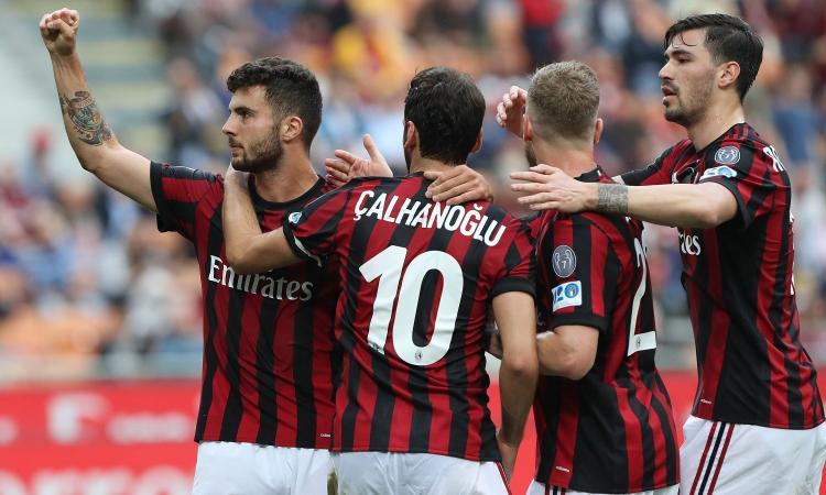 Poker Milan: sorpasso all'Atalanta e messaggio alla Juve. Verona in Serie B