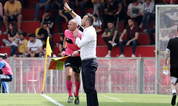Benevento, De Zerbi: 'Giornata fantastica. Futuro? Settimana prossima'
