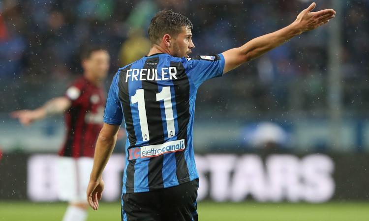 Lazio, sempre viva la pista Freuler