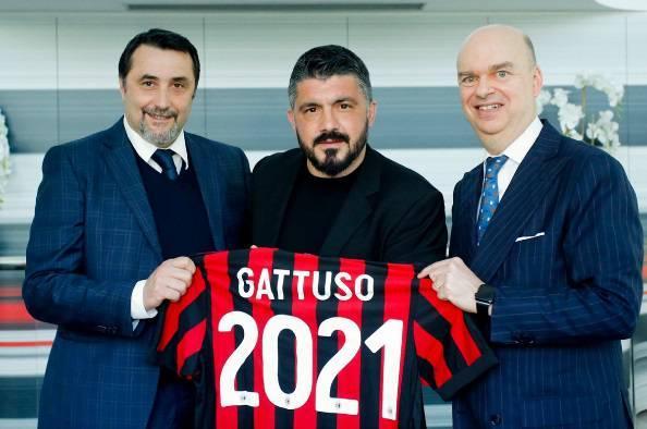 "Gattuso: ""Ripartire con entusiasmo e senza alibi"""