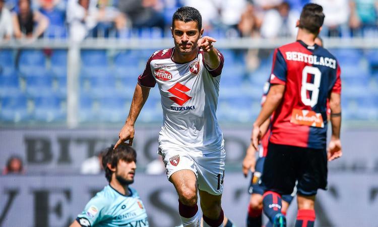 Torino, problema muscolare per Iago Falque: Juve a rischio