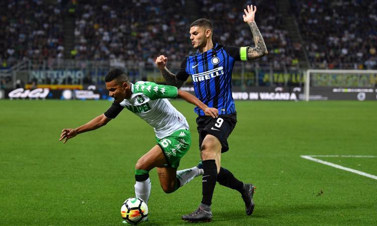Inter-Sassuolo, rivivi la MOVIOLA: Icardi in fuorigioco, giusto annullare il gol