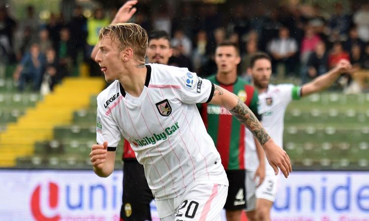 Palermo, un attaccante piace alla Sampdoria