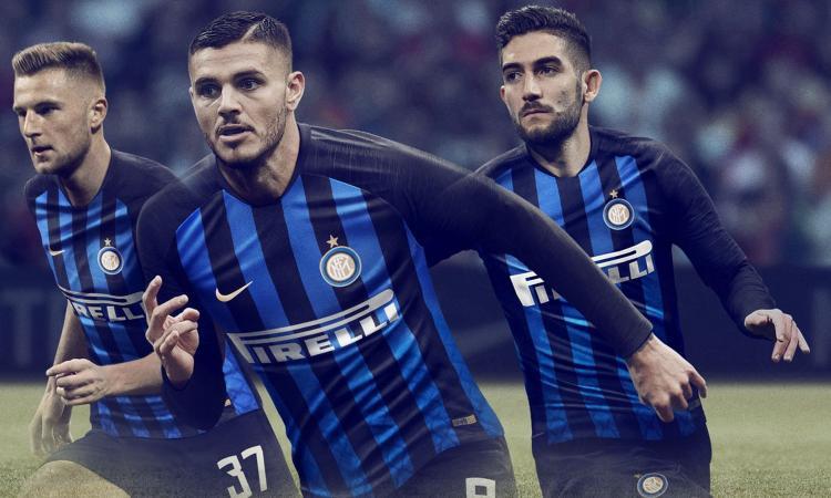 Inter, ecco la maglia 2018-19 FOTO