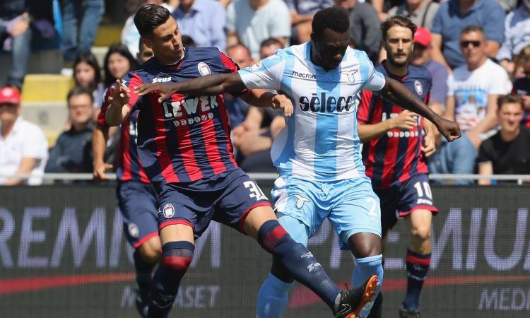Crotone-Lazio 2-2: Champions in bilico, domenica spareggio con l'Inter