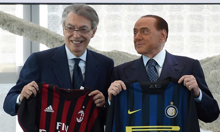 Inter-Milan, Berlusconi: 'Sgridai Maldini per il 6-0'. Moratti: 'Quante lacrime'
