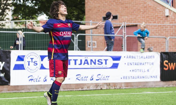 Juve, confermato l'arrivo del giovane Moreno dal Barcellona