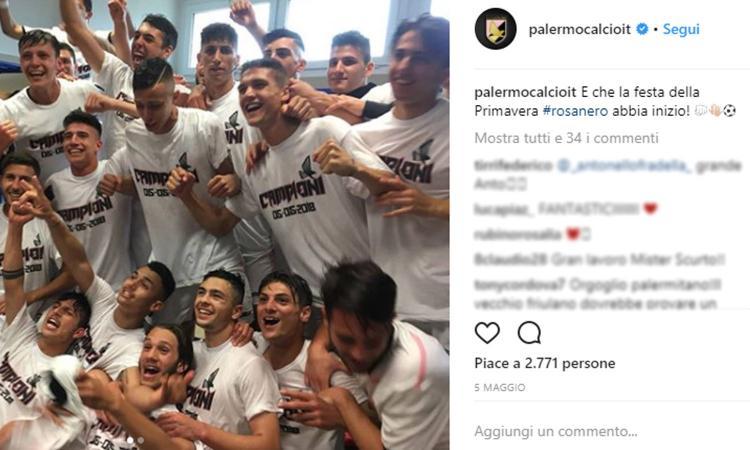Palermo, la Primavera torna in Serie A: in tre pronti per una big, l'Inter in pole