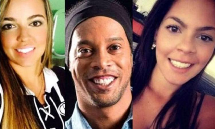 Ronaldinho come Pupo: il Gaucho si sposa con due donne! VIDEO